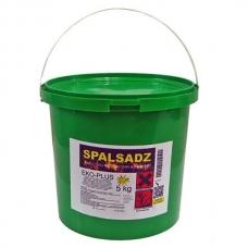 Spalsadz в банке 5 кг препарат для сжигания сажи в дымоходах, каминах, котлах