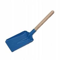 Лопатка стальная с деревянной ручкой маленькая