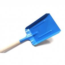 Лопатка стальная с деревянной ручкой большая
