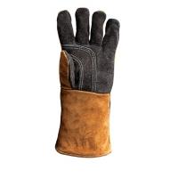 Термостойкая кожаная перчатка HANSA (левая)