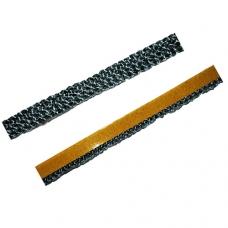Самоклеющийся каминный уплотнительный шнур для дверей 10мм × 2мм