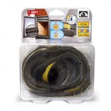 Шнур из керамического волокна Hansa, клейкий 10×2 мм, длина 2,5 м