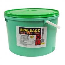 Spalsadz в банке 10 кг препарат для сжигания сажи в дымоходах, каминах, котлах