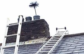 Методы чистки дымохода