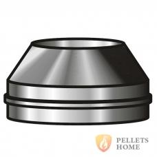 Конус из нержавеющей стали 0,8мм с теплоизоляцией AISI 321